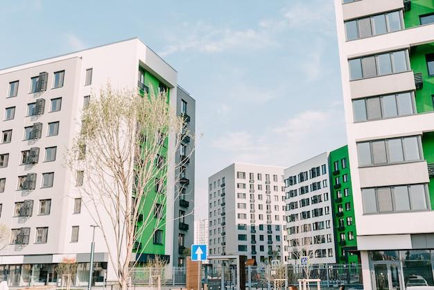 Edifício residencial moderno