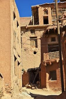 Edifícios antigos da vila de abyaneh