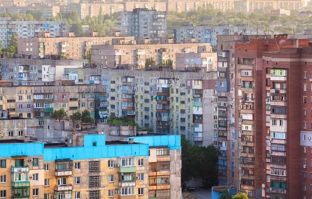 Edifícios antigos na ucrânia