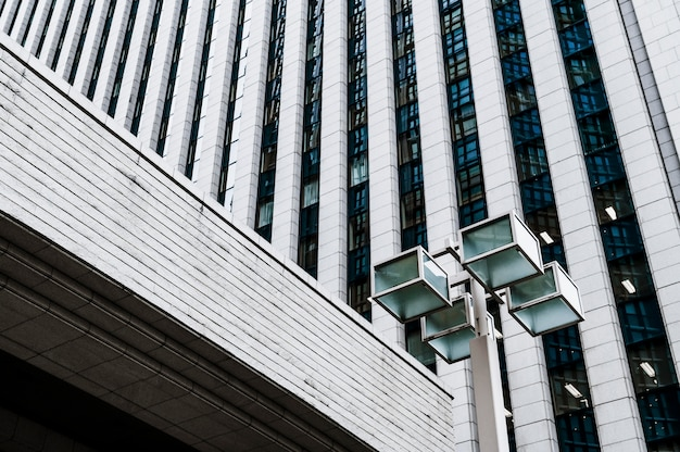 Edifícios comerciais modernos na cidade