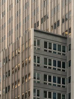 Edifícios comerciais.
