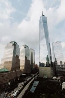 Edifícios e arranha-céus em nova york