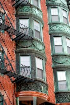 Edifícios, em, boston, massachusetts, eua
