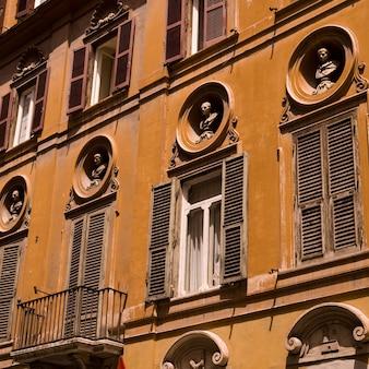 Edifícios, em, roma, itália