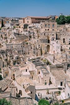 Edifícios em uma cidade medieval