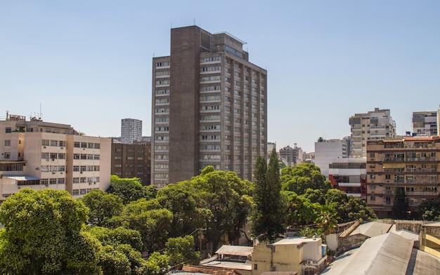 Edifícios no bairro de botafogo no rio de janeiro brasil.