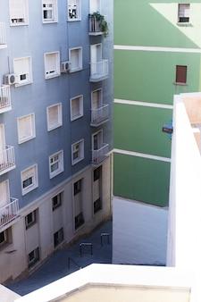 Edifícios públicos. vista exterior dos edifícios