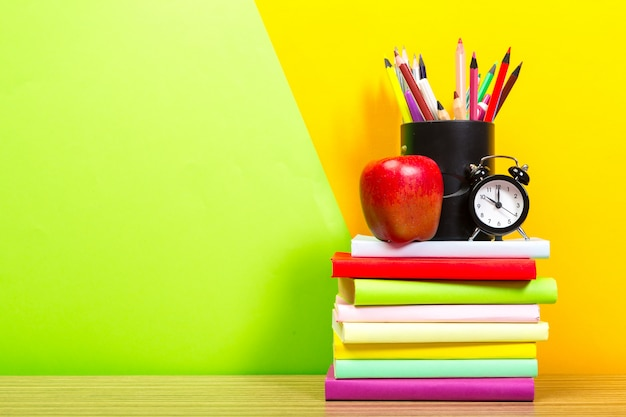 Educação ou de volta à escola concept.