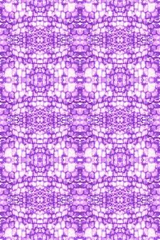 Efeito aquarela líquido. pintura abstrata boho violeta. tie dye seamless pattern.