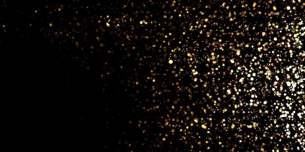 Efeito bokeh abstrato bokeh brilho cintilante 3d