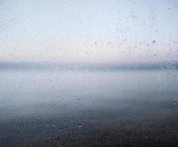 Efeito de chuva no fundo da praia