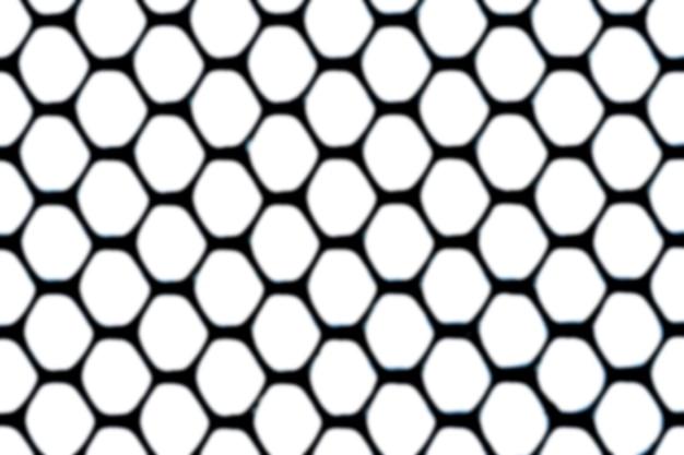 Efeito de desfoque de fundo de padrão de malha preta abstrata