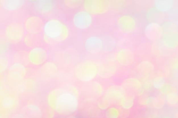 Efeito de iluminação de bokeh brilho colorfull turva abstrato para aniversário, aniversário, casamento, véspera de ano novo ou natal