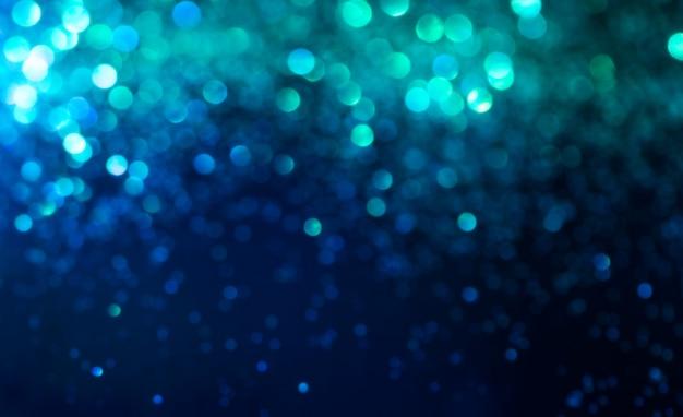 Efeito de iluminação de bokeh brilho colorido turva abstrato