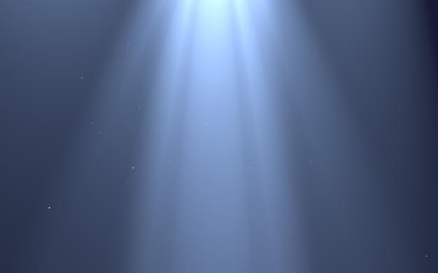 Efeitos de luz de raios isolados _ fundo