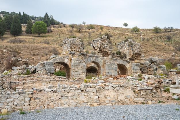 Éfeso ruínas da antiga cidade grega em izmir, turquia