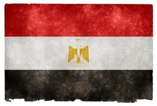 Egito grunge bandeira