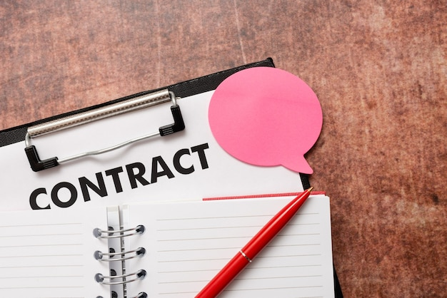 Elaboração de um novo contrato, criação de mensagem de acordo, anotações importantes, composição de ideias para cartas, redação de cartas escritas, criação de registros escritos, listagem de documentos
