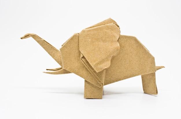 Elefante origami