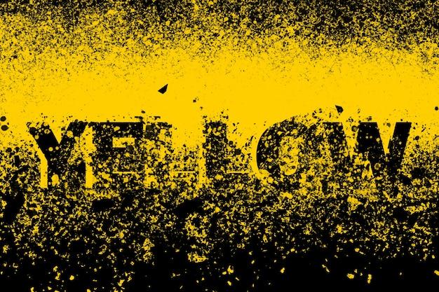 Elemento de design de arte de ilustração de fundo abstrato amarelo