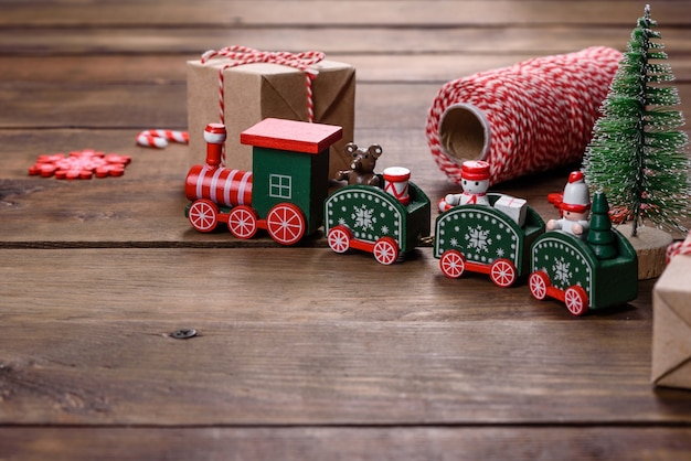 Elementos de decoração de natal para decorar a árvore de ano novo