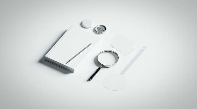Elementos de design de apresentação de livro