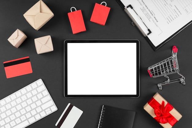 Elementos de venda de evento de cyber monday