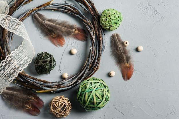 Elementos naturais para decoração
