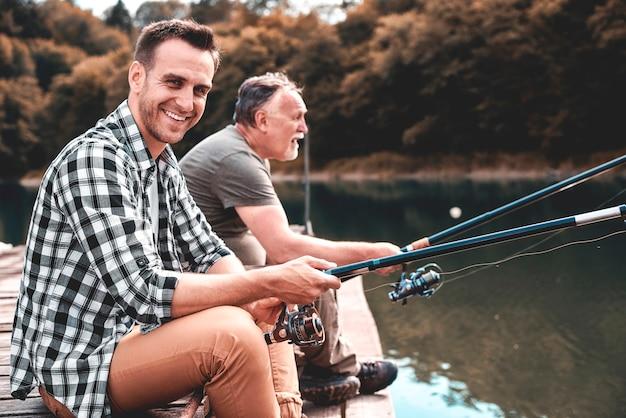 Eles são voltados para pescar