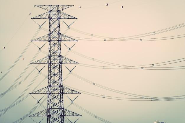 Eletricidade e alta tensão