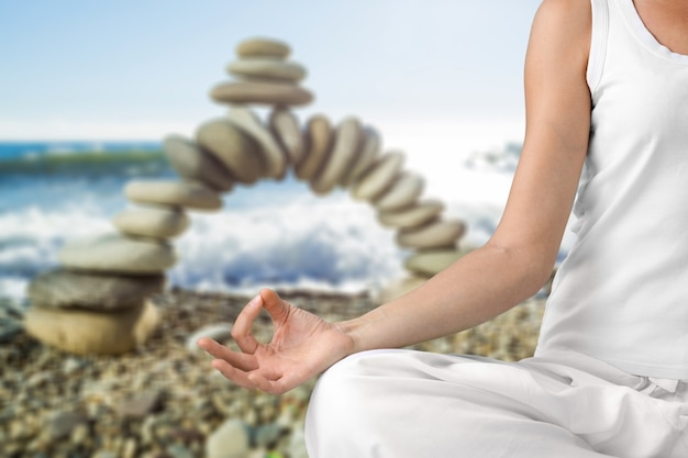 Em meditação
