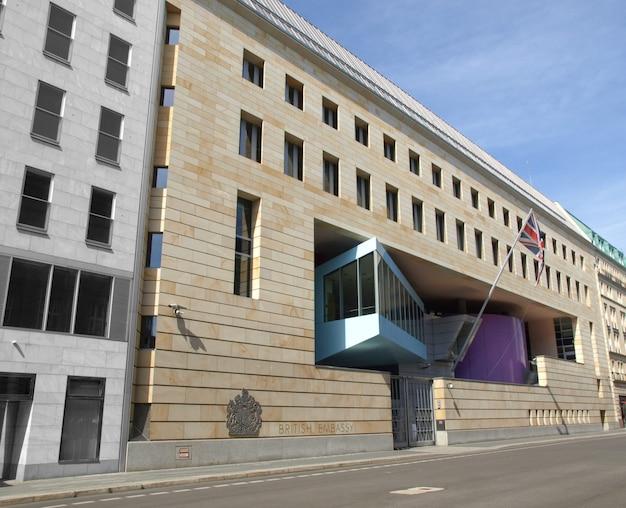 Embaixada britânica, berlim