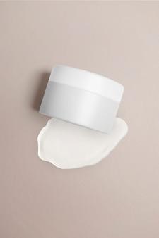 Embalagem de produtos de beleza em pote para skincare