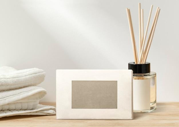 Embalagem de produtos de spa de beleza sem etiqueta