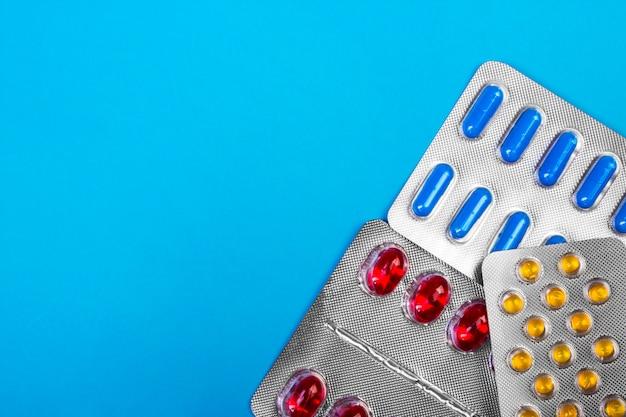 Embalagens de comprimidos