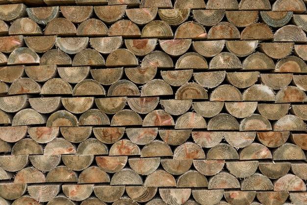 Empilhamento de madeira