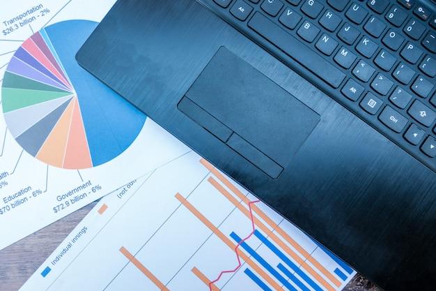 Empresa analisa as demonstrações financeiras anuais da empresa, saldos de trabalho