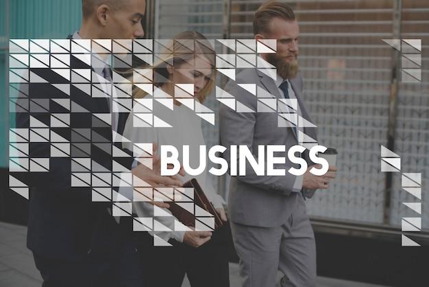 Empresa de negócios organizações start up commercial