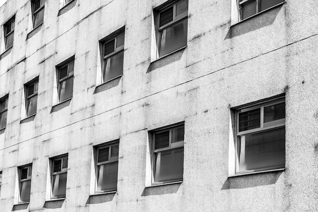 Empresa moderna construção abstrata urbana