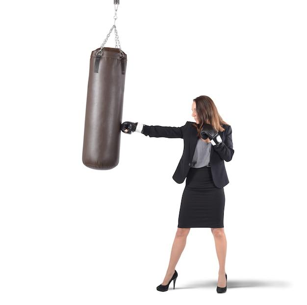 Empresária boxe