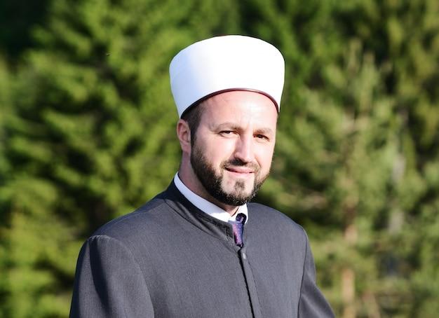 Empresário árabe moderno