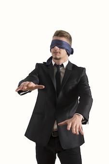 Empresário cego
