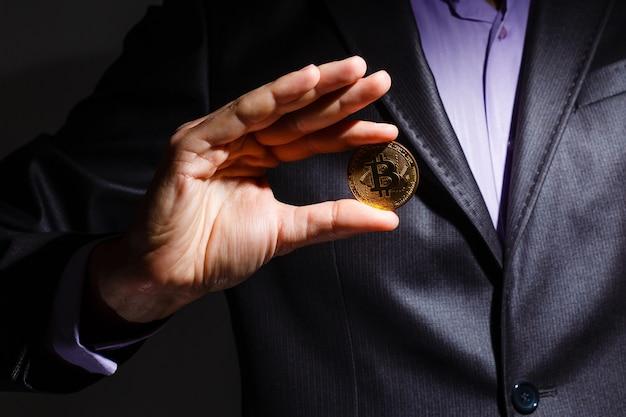 Empresário oferece bitcoin - bit coin btc, o novo dinheiro virtual
