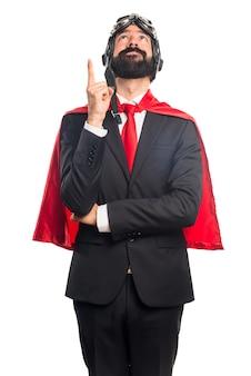Empresário super-herói
