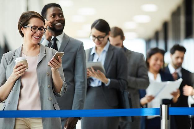 Empresários ambiciosos à espera de fórum