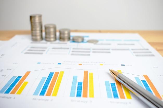 Empresários estão calculando o dinheiro