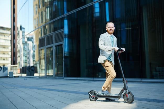 Empurre a scooter