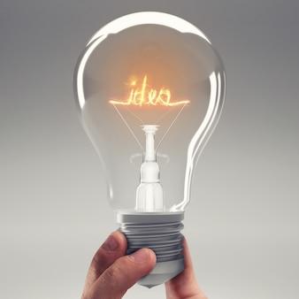 Encontra uma solução ou tem uma ideia brilhante. renderização 3d