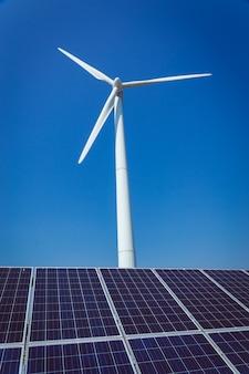 Energia alternativa verde e conceito de ecologia de proteção ambiental