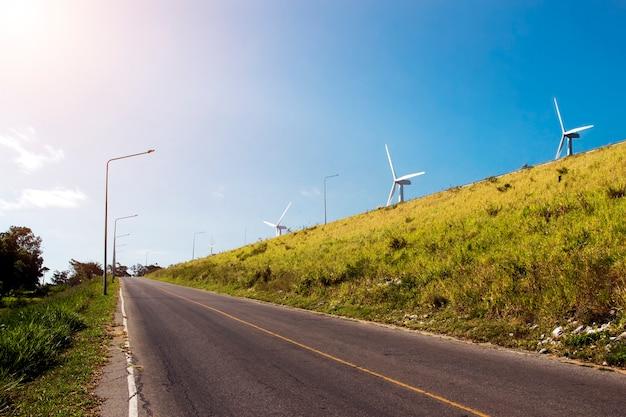 Energia de energia da turbina de vento